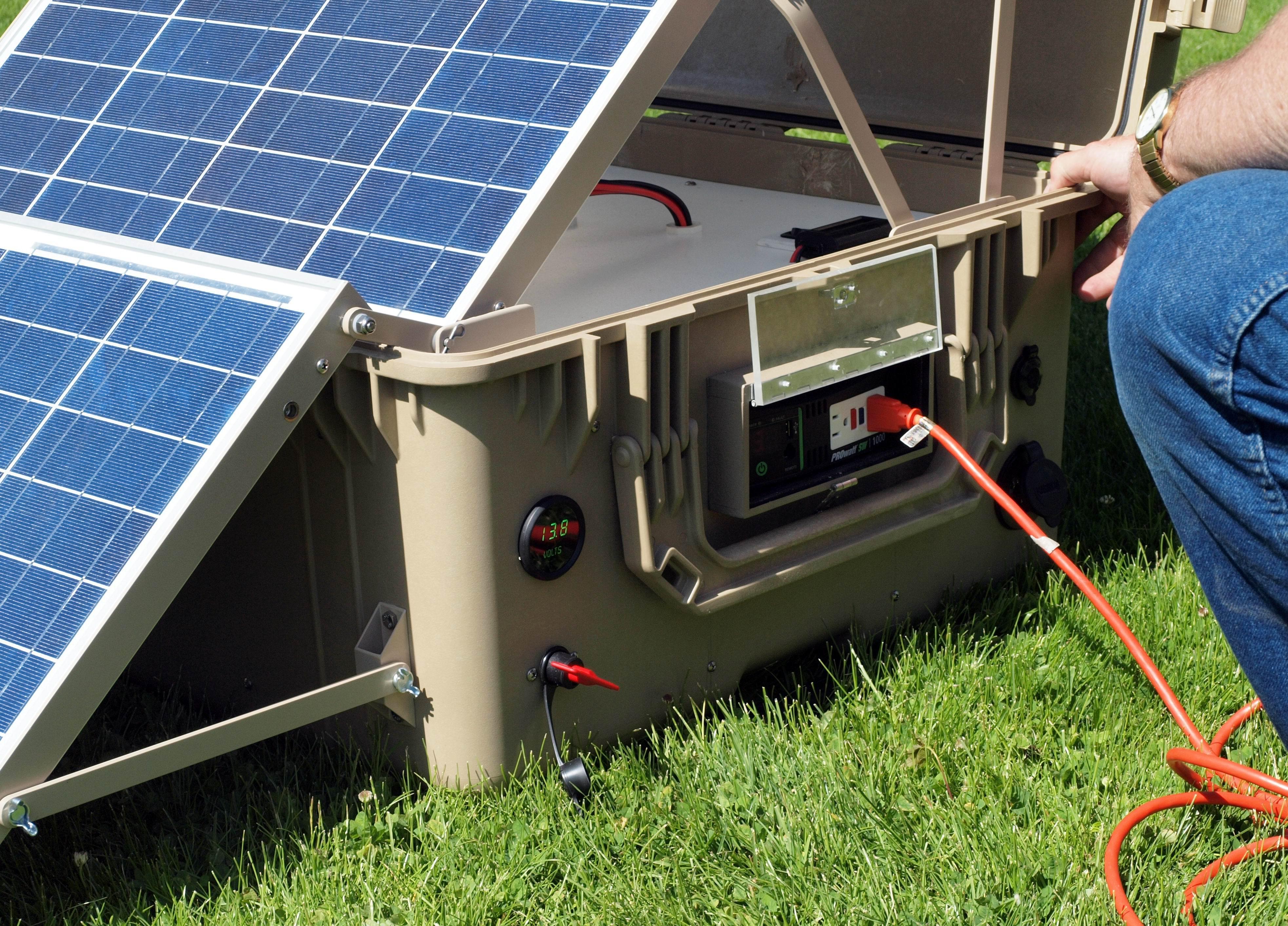 Как сделать солнечную электростанцию своими руками из  87